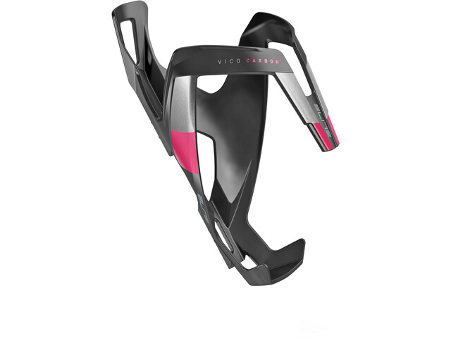 Elite Vico Bottle Holder Carbon black matte/pink design